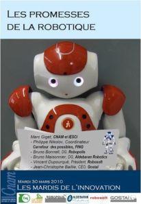 Les promesses de la robotique CNAM