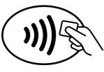 Logo service sans contact