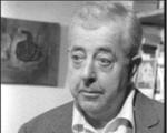 Jacques Prévert en 1961 dans le film Mon frère Jacques par Pierre Prévert