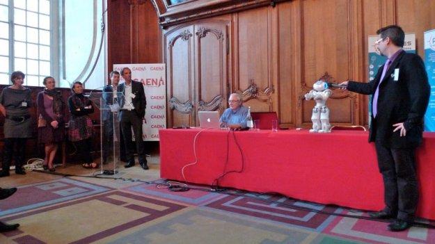 Jean-Michel Billaut, NAO et l'équipe du pole TES