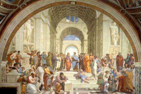 Raphael, Les Philosophes, Musée du Vatican