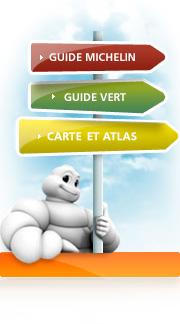 Cartes et guides Michelin