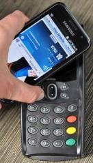Visa Samsung NFC launch