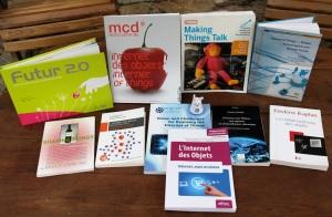 Les livres de l'Internet des objets (c) Pierre Metivier