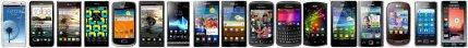 Galerie de mobiles NFC