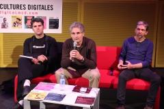 Julien Ottavi, Philippe Aigrain et Antoine Moreau