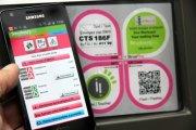 Info transport CTS Strasbourg NFC
