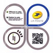 Information relevé boite postale NFC