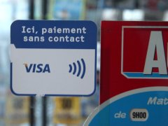 Vitrophanie paiement NFC Nice