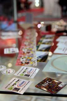 NFC tags @ Cartes 2012