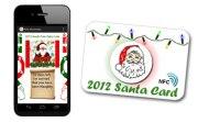 La carte NFC du père Noël