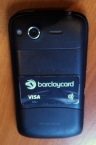 Visa Barclays sticker NFC