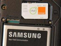 Mobile Samsung et SIM Cityzi