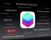 ibeacons screenshot