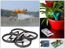 Arrosage des plantes d'intérieur par drone