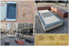 Mobilier urbain NFC