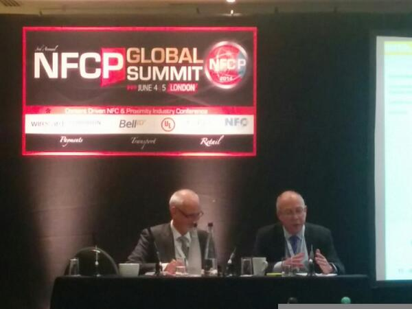 On stage @ NFCP Global summit