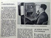 Un vidéotéléphone de 1948