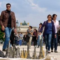 Promenade dans le Jardin des Tuileries