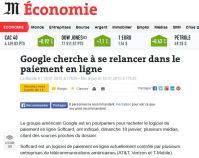 Softcard et Google by Le Monde
