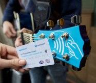 Paiement NFC pour musicien de rue