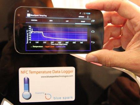 Capteur de température NFC chez AMS