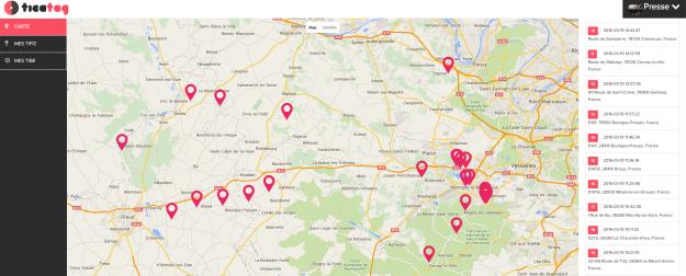 Localisation GPS Tifiz