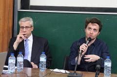 Jean-Marc Lehu et Julien Goetz