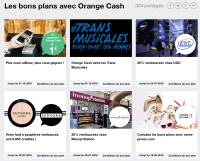 Bons plans Orange Cash