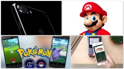 iPhone7 Super Mario PokemonGo Apple Pay