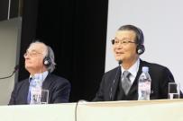 Robert Boyer et le Prof. Teruo Kishi