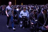 Mark Zuckerberg au MWC 2016