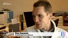 Tim Pauwels - New fusion (c) Copie écran reportage RTBF