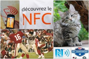 NFC, chat, football et IOT