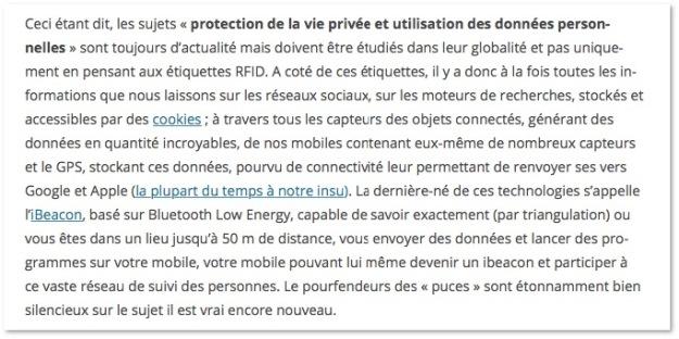 Le RGPD avant l'heure - 2014 - Pierre Métivier