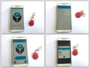 Chaque opération de lecture ou d'écriture est sécurisée par tag NFC