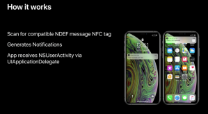 Lecture de tag NFC sur iPhone XS