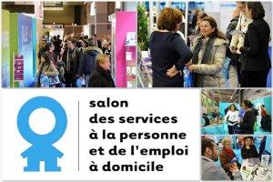 Salon des services à la personne et de l'emploi à domicile. Photos Megret&Co