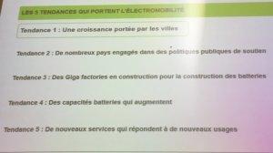 Les 5 tendances portant l'électromobilité