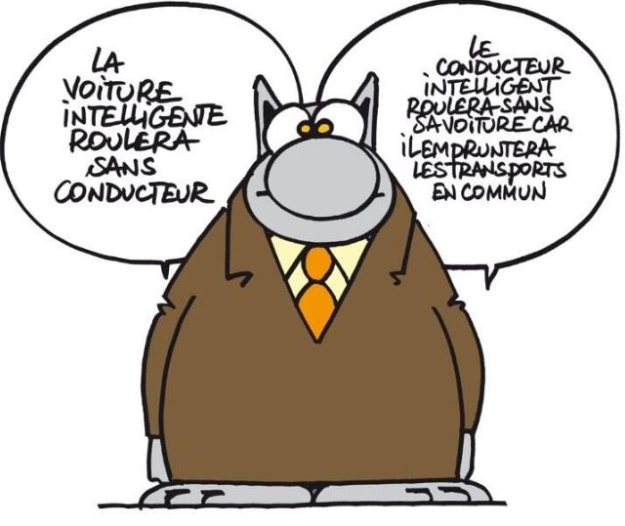 Le Chat (c) Philippe Geluck