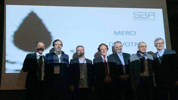 Usual suspects de la SBA France, un éclairage pas trop « smart » pour la photo de famille