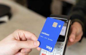 Coinbase NFC payment card