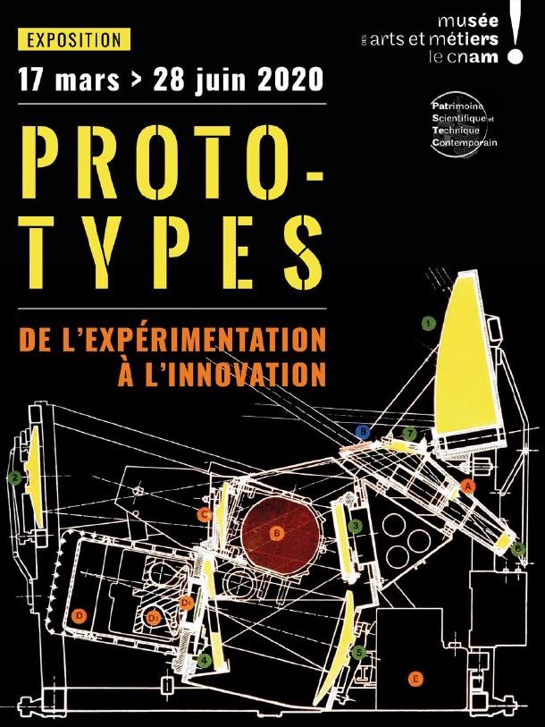 Exposition Prototypes aux Musée des arts et métiers