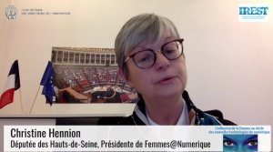 Christine Hennion, FemmesNumerique