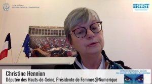 Christine Hennion, FemmesNumerique