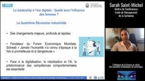 Sarah Saint Michel, Sorbonne