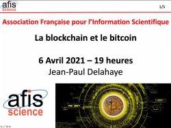 Blockchain et bitcoin AFIS
