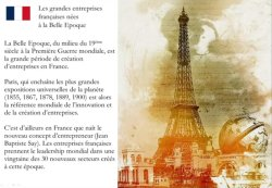 Les entreprises françaises nées à la Belle Epoque